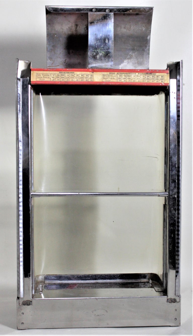 20th Century Mid-Century Modern British Ilford Selo Photography Film Store Display For Sale