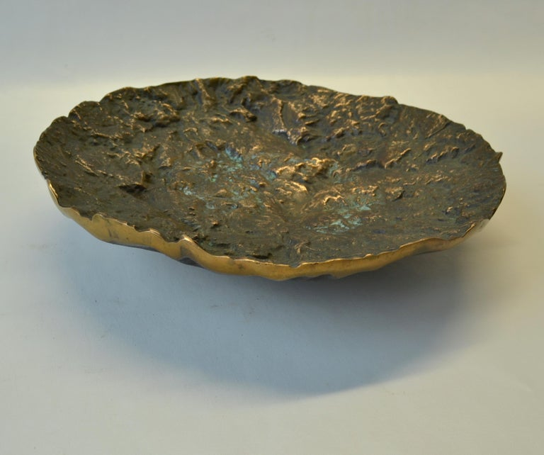 Mid-Century Modern Bronze Bowl by Kaj Blomqvist For Sale 1