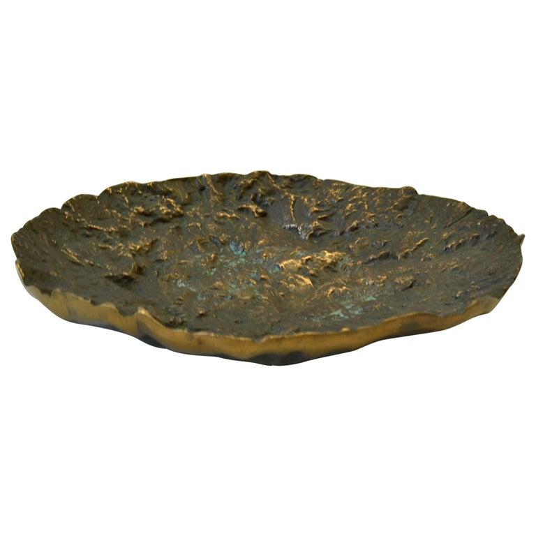Mid-Century Modern Bronze Bowl by Kaj Blomqvist For Sale