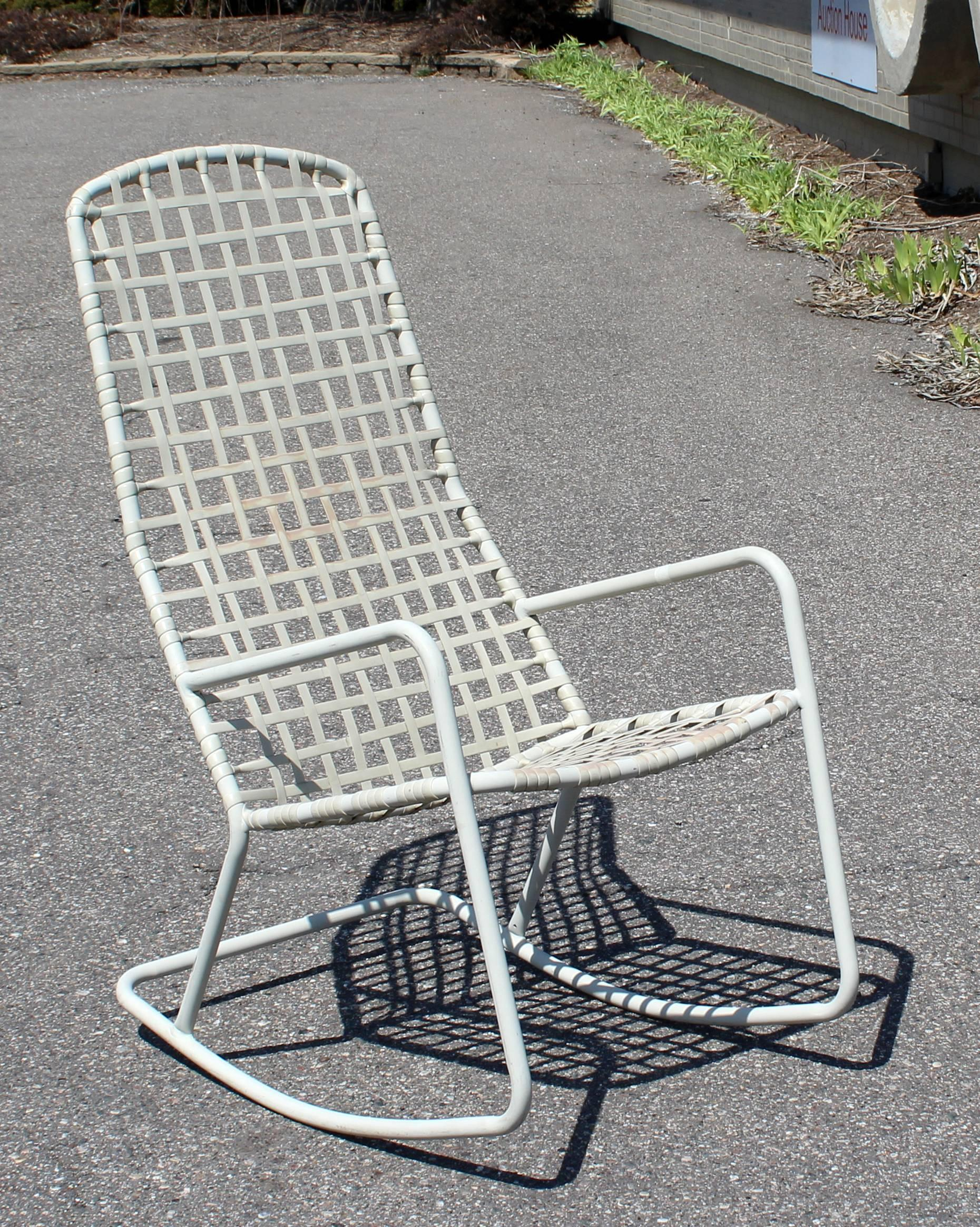 For Your Consideration Is An Outdoor Patio Rocking Chair By Brown Jordan  From The Kantan Series