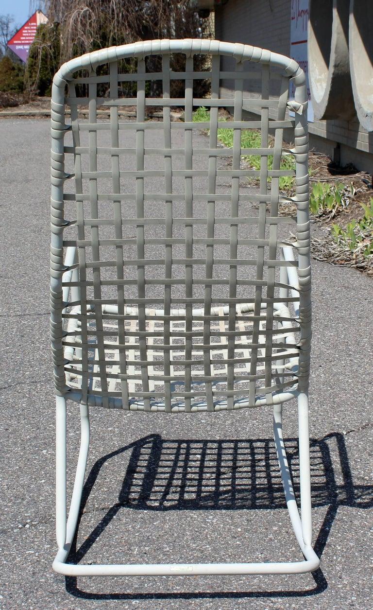 Mid-Century Modern Brown Jordan Kantan Outdoor Patio Rocker Rocking Chair, 1960s For Sale 3