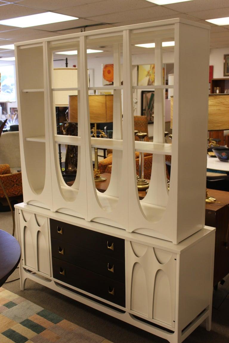 Mid Century Modern Broyhill Brasilia Dining Table Chairs