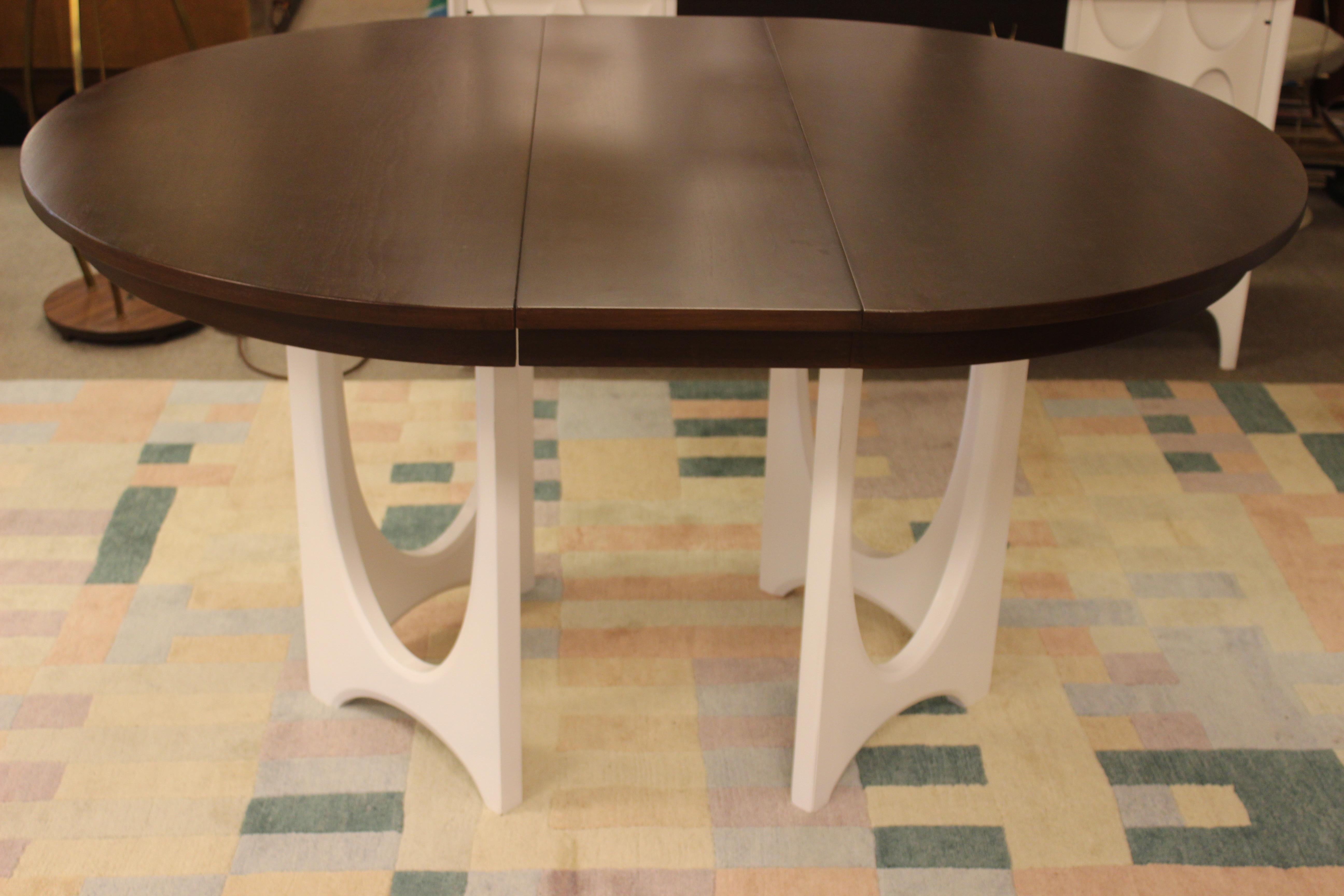 Mid Century Modern Broyhill Brasilia Dining Table Chairs Credenza U0026 Hutch  Set