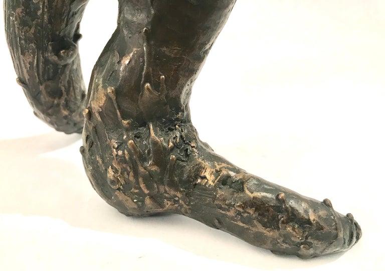 Mid-Century Modern Brutalist Bronze Sculpture For Sale 8
