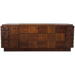 Mid-Century Modern Brutalist Lane Staccato Dresser