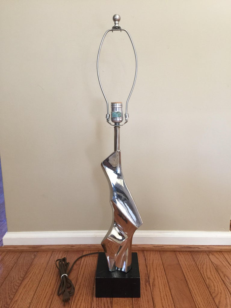 Mid-Century Modern Brutalist Light by Laurel Lamp, Style of Maurizio Tempestini For Sale 1