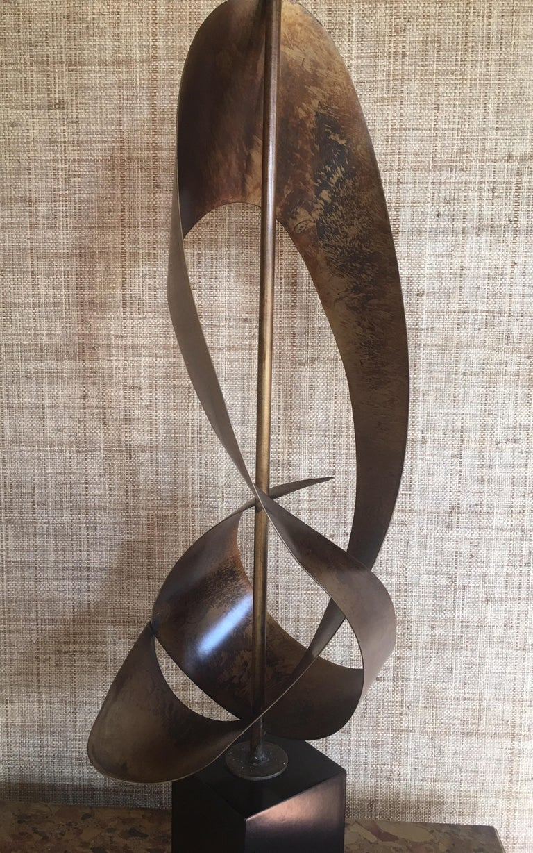 Mid-Century Modern Brutalist Sculptural Table Lamp by Harry Balmer for Laurel For Sale 5