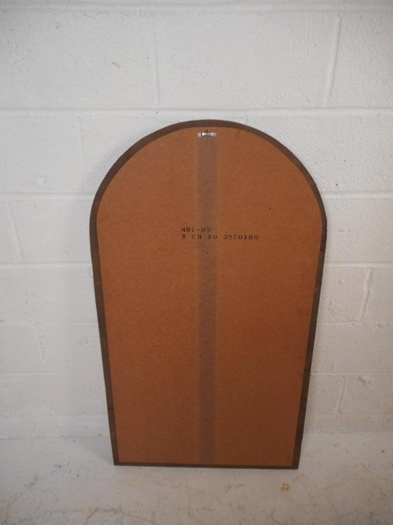 Mid-Century Modern Brutalist Wall Mirror For Sale 1
