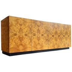 Mid-Century Modern Burl Wood Credenza by Arthur Umanoff for Dillingham