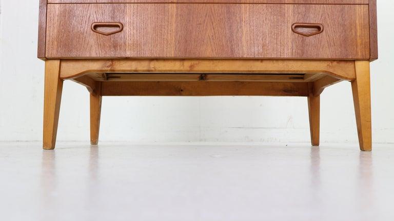Mid-Century Modern by Egon Ostergaard Rolltop Secretary Desk, 1970 For Sale 4