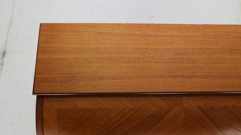 Mid-Century Modern by Egon Ostergaard Rolltop Secretary Desk, 1970 For Sale 7