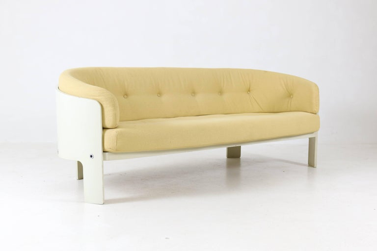 Lacquered Mid-Century Modern BZ49 Sofa by Hans Ell for 't Spectrum, 1970-1971 For Sale