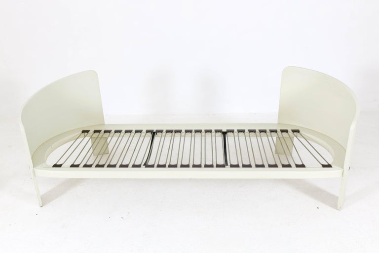 Wood Mid-Century Modern BZ49 Sofa by Hans Ell for 't Spectrum, 1970-1971 For Sale