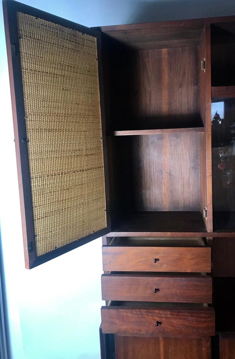 Mid-Century Modern Cabinet / Server by Merton Gershun for Dillingham For Sale 4