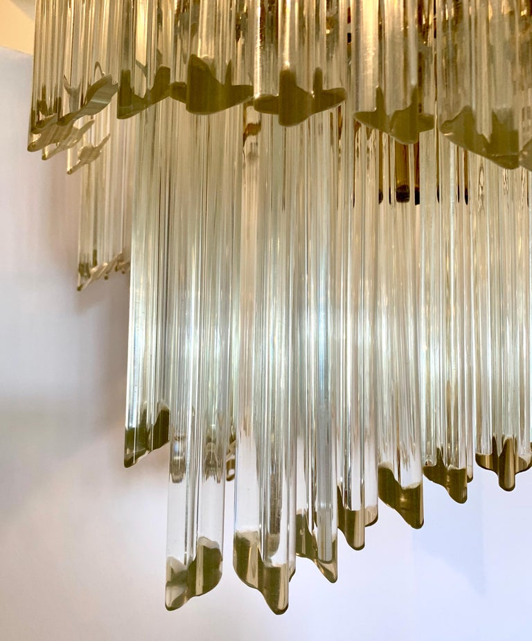 Mid-Century Modern Camer Murano Glass Chandelier For Sale 1