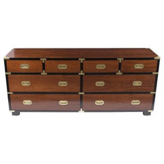 Mid-Century Modern Campaign Chest