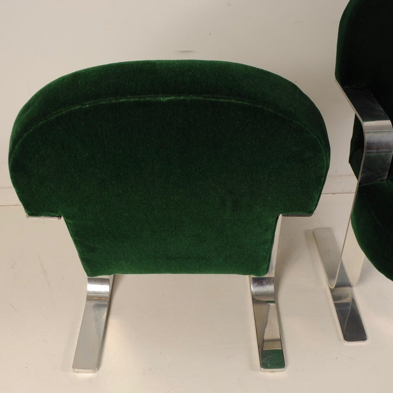 Mid-Century Modern Cantilevered Chairs For Sale 4