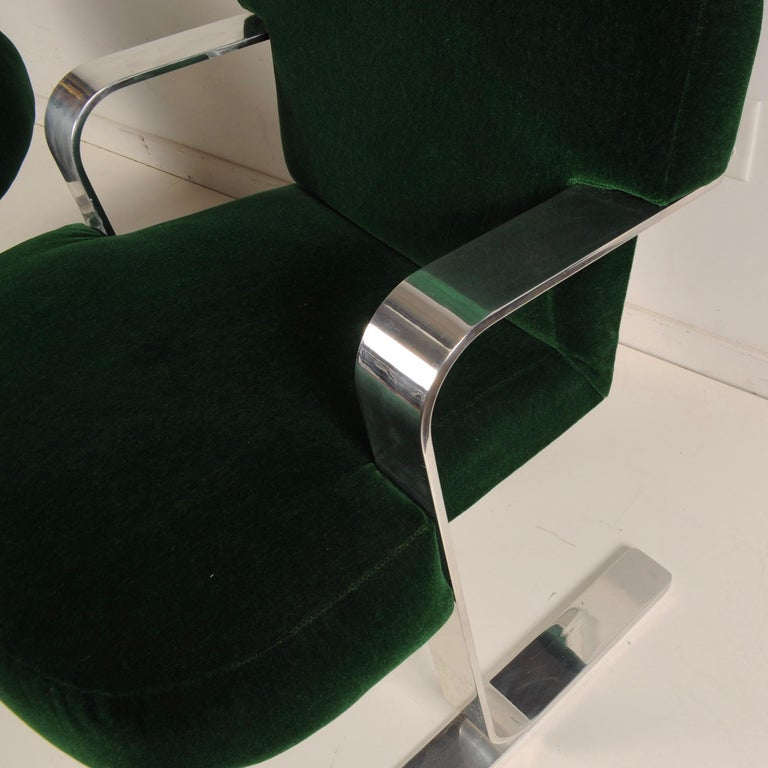 Mid-Century Modern Cantilevered Chairs For Sale 6