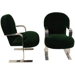 Mid-Century Modern Cantilevered Chairs