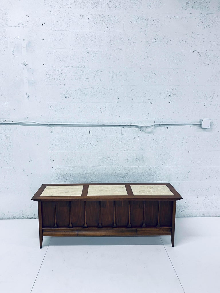 Mid-Century Modern Cedar Lined Chest by Lane For Sale 6