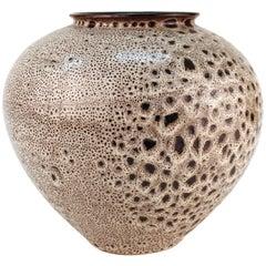 Mid-Century Modern Ceramic Art Vase, Signed