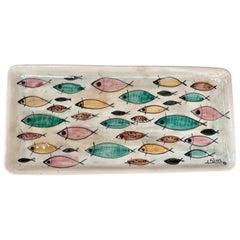 Mid-Century Modern Ceramic Dish by Noe Suro
