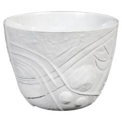 Mid-Century Modern Ceramic Flower Pot Designed by Bertil Vallien for Rörstrand