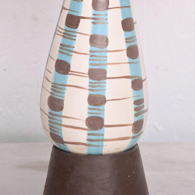 Mid-Century Modern Ceramic Table Lamp For Sale 1