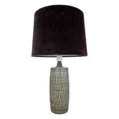 "Mid-Century Modern Ceramic Table Lamp ""Rubus"" Gunnar Nylund Rörstrand, Sweden"