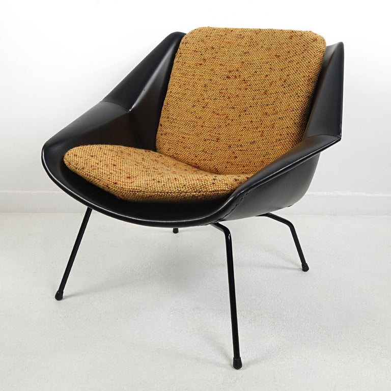 Dutch Mid-Century Modern Chair FM08 with Loose Cushions by Cees Braakman for Pastoe For Sale