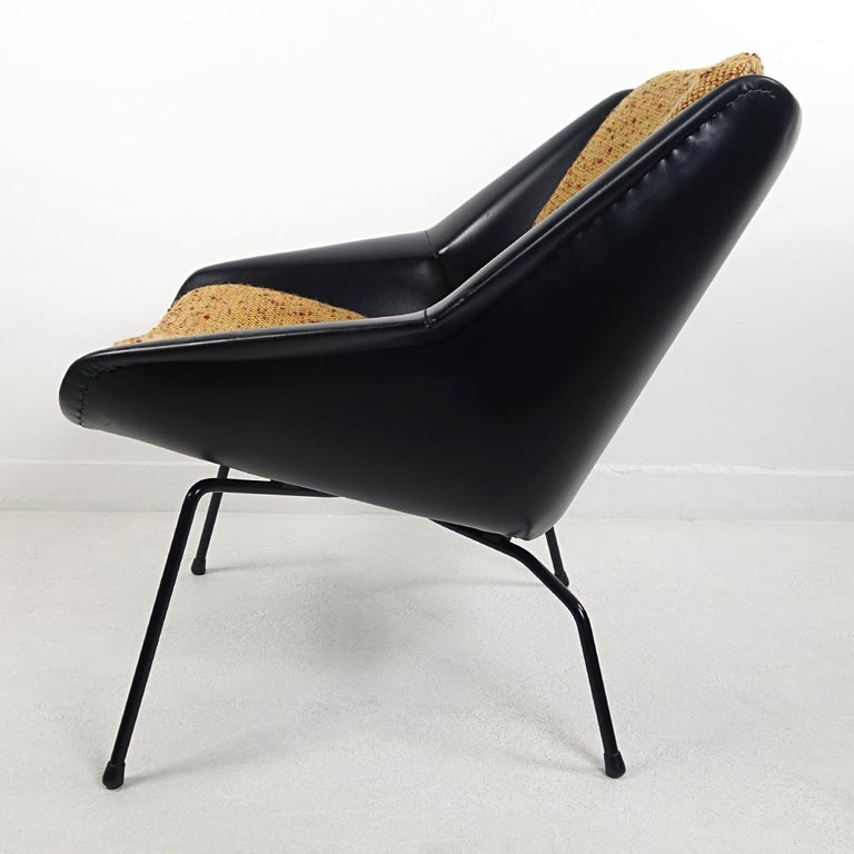 Mid-Century Modern Chair FM08 with Loose Cushions by Cees Braakman for Pastoe In Good Condition For Sale In Doornspijk, NL
