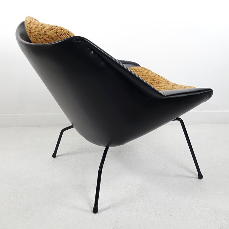Mid-Century Modern Chair FM08 with Loose Cushions by Cees Braakman for Pastoe For Sale 1
