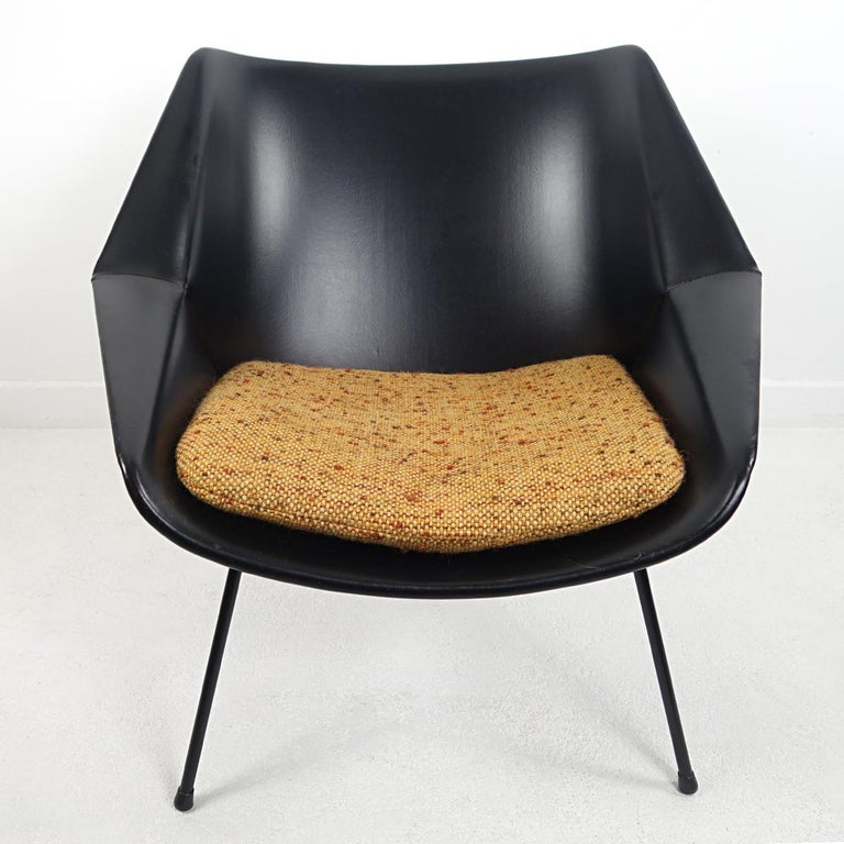 Mid-Century Modern Chair FM08 with Loose Cushions by Cees Braakman for Pastoe For Sale 2