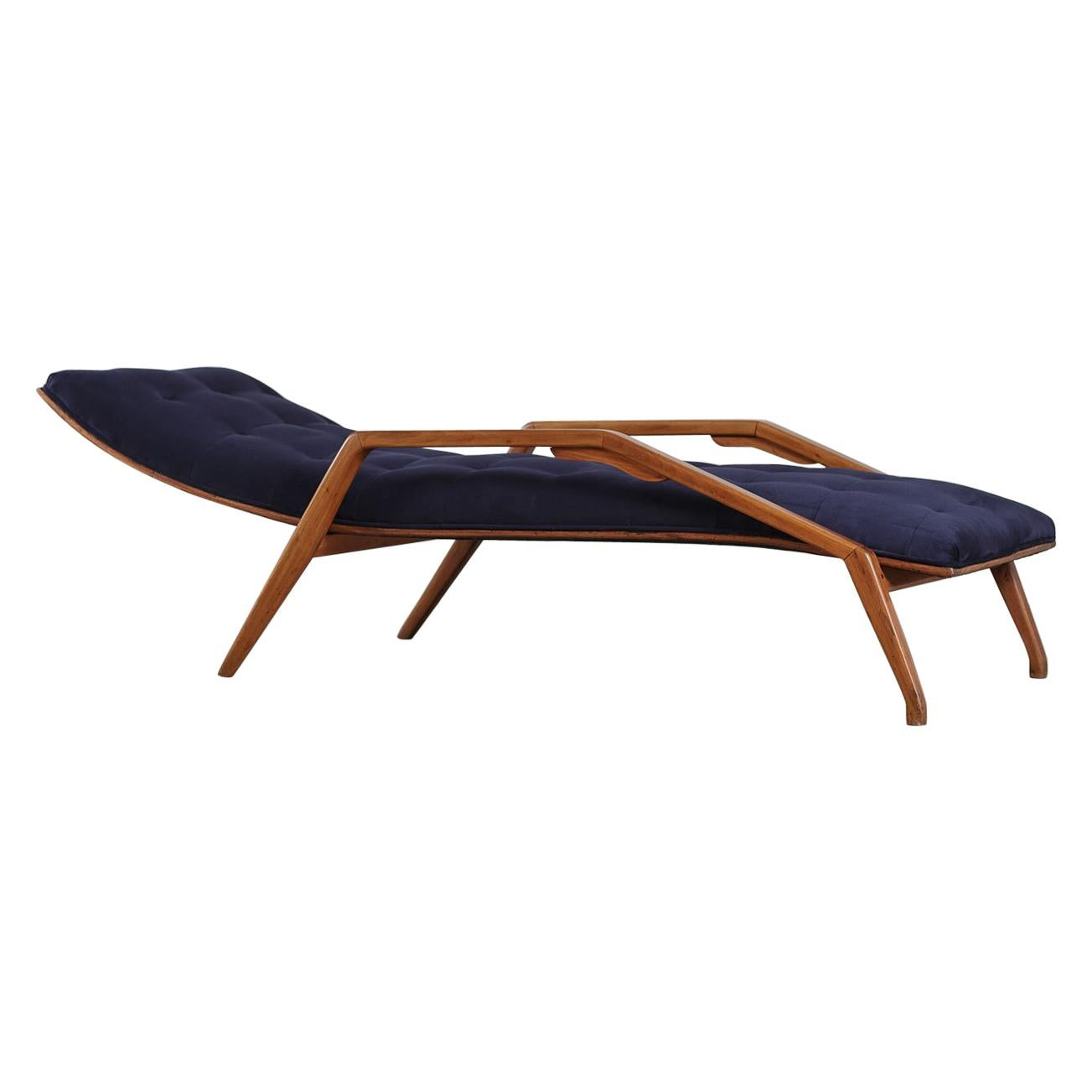 Mid-Century Modern Chaise by Jean Gillon