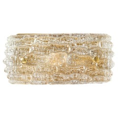 Mid-Century Modern Champagne Glass Vanity Light by Carl Fagerlund for Orrefors