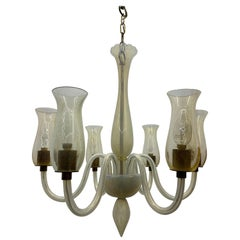 Mid-Century Modern Chandelier by Cenedese in Murano Glass, circa 1970