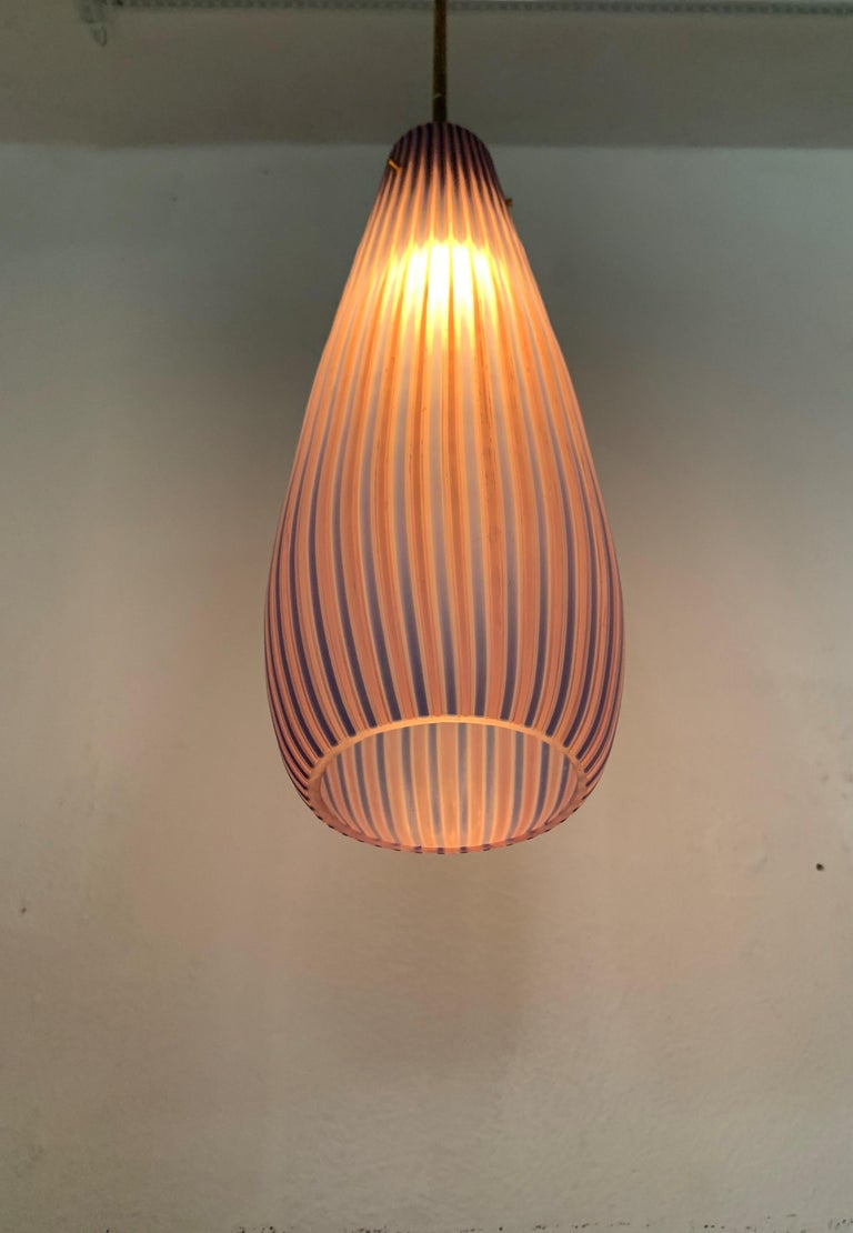 Mid-Century Modern Chandelier in the Style Massimo Vignelli, circa 1960s For Sale 6