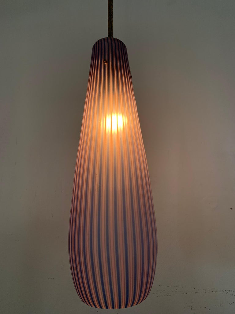 Mid-Century Modern Chandelier in the Style Massimo Vignelli, circa 1960s For Sale 8
