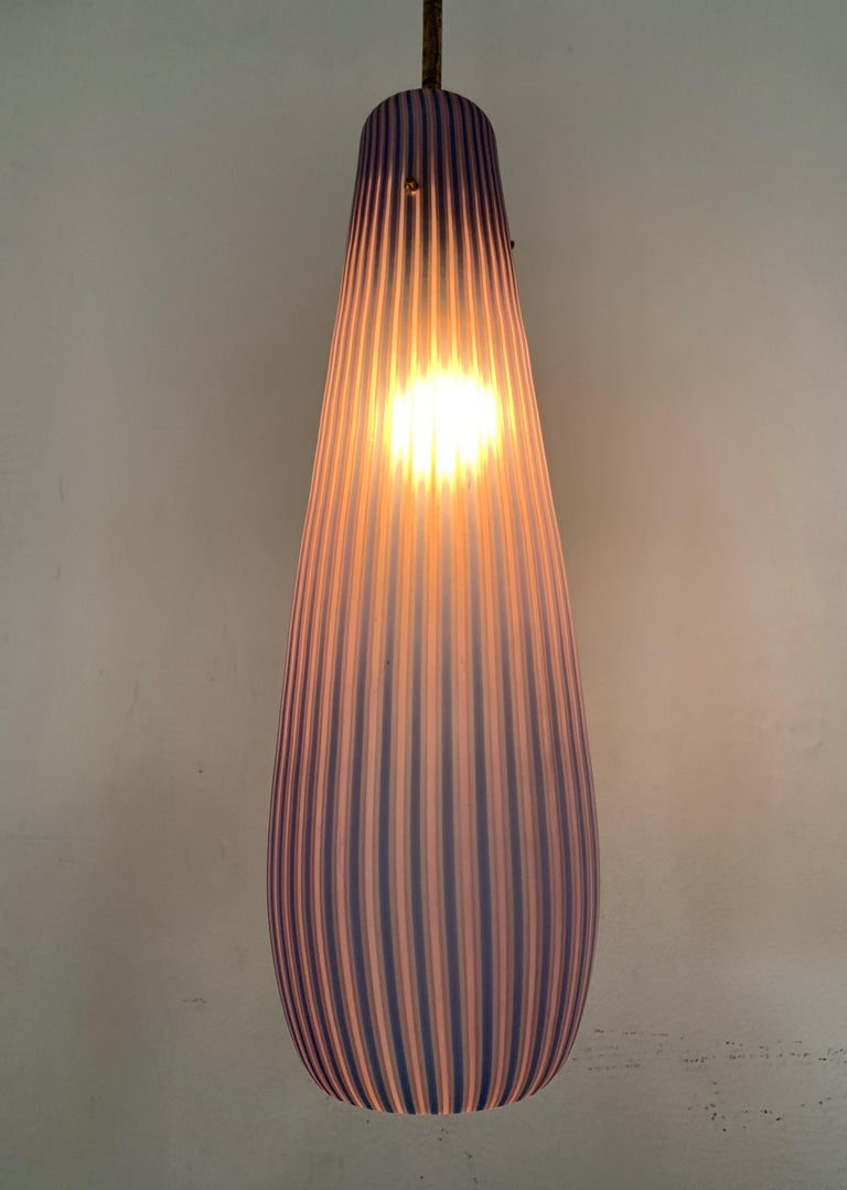 Mid-Century Modern Chandelier in the Style Massimo Vignelli, circa 1960s For Sale 3