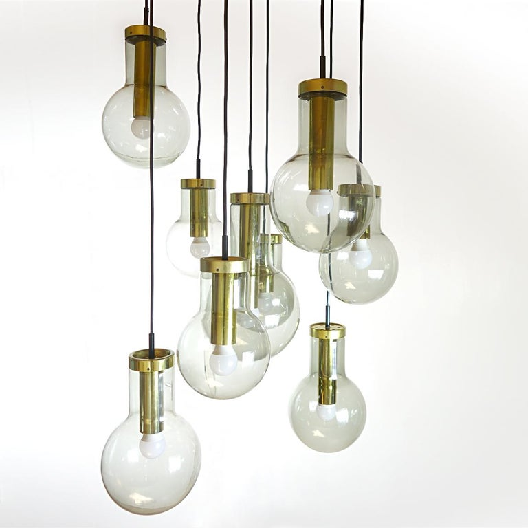 Mid-Century Modern Chandelier or Pendant