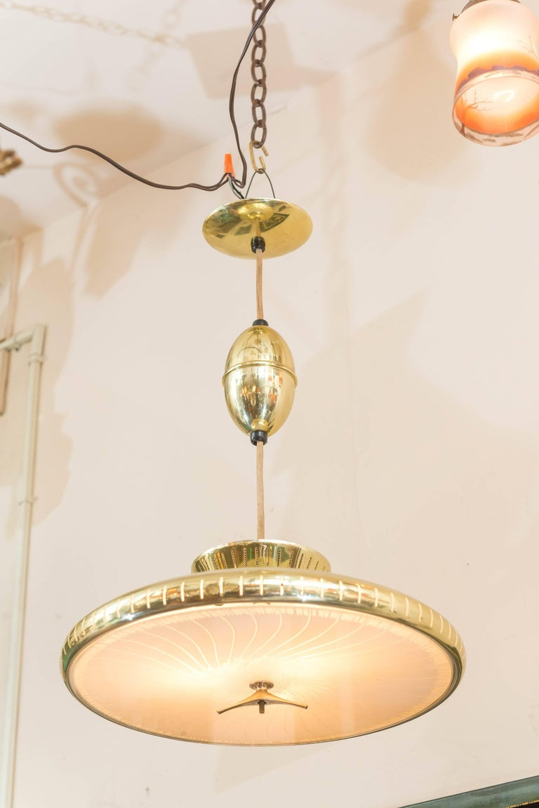 Mid-Century Modern Chandelier or Pendant For Sale 1