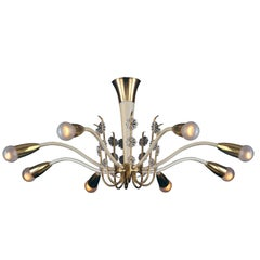 "Mid-Century Modern Chandelier ""Princess"" - differnt variations available"