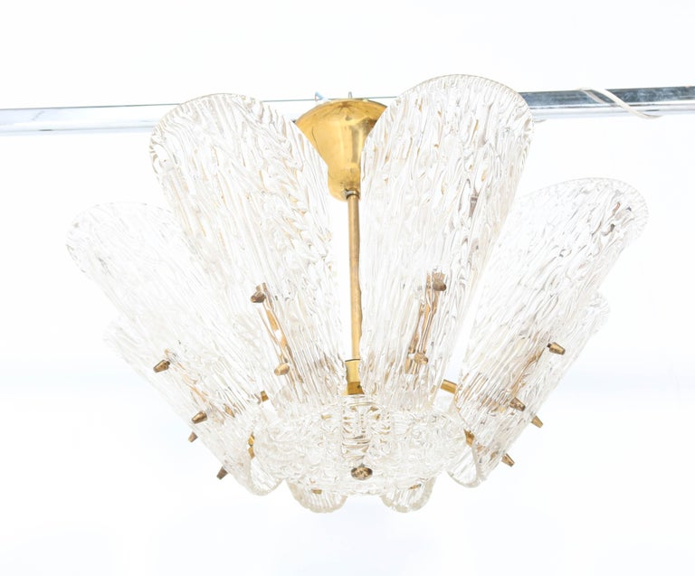 Magnificent Mid-Century Modern chandelier.