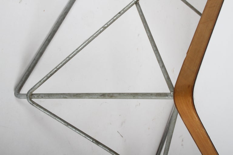Mid-Century Modern Charles Eames for Herman Miller White Top LTR Tables For Sale 4