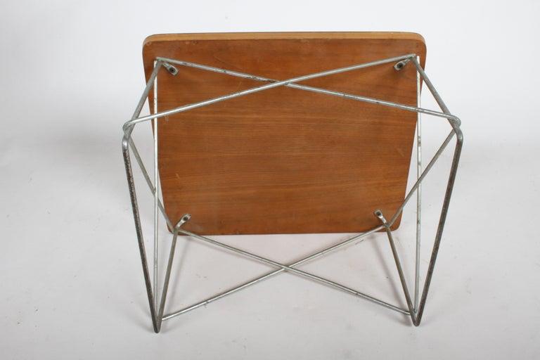 Mid-Century Modern Charles Eames for Herman Miller White Top LTR Tables For Sale 6