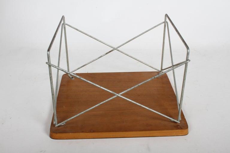 Mid-Century Modern Charles Eames for Herman Miller White Top LTR Tables For Sale 7
