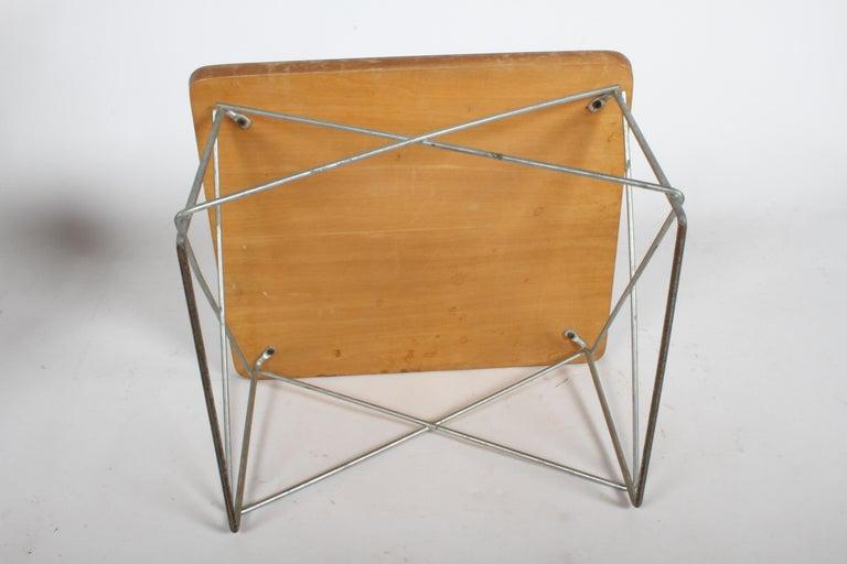 Mid-Century Modern Charles Eames for Herman Miller White Top LTR Tables For Sale 13