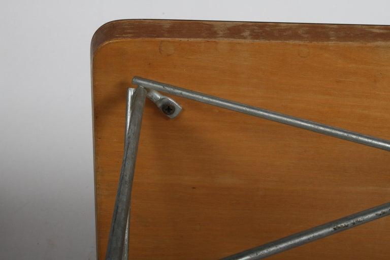 Mid-Century Modern Charles Eames for Herman Miller White Top LTR Tables For Sale 14