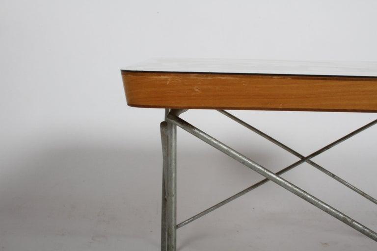 Mid-Century Modern Charles Eames for Herman Miller White Top LTR Tables For Sale 2