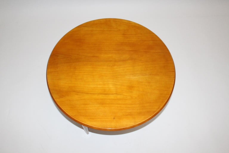 20th Century Mid-Century Modern Cherrywood Coffee Table by Josef Frank attributed Sweden 1950 For Sale